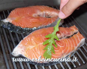 Cooking salmon