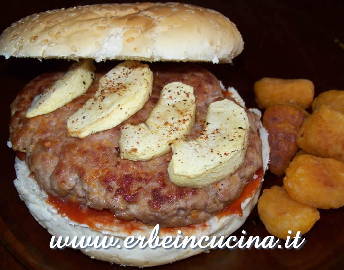 Hamburger di Halloween